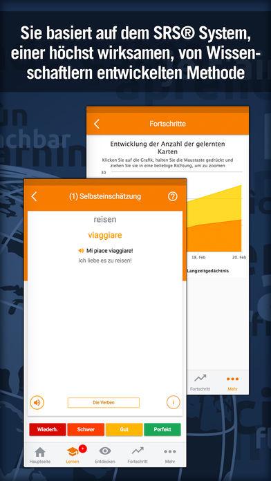 [iOS] [Android] Italienisch lernen mit MosaLingua (Premium) kostenlos statt 5,49€