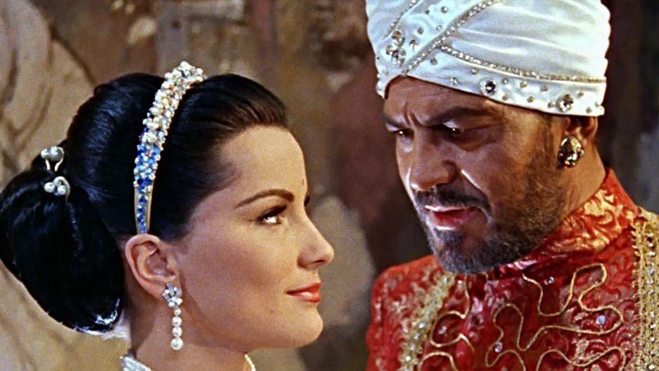 """[arte Mediathek] Das indische Grabmal - Klassiker, Fortsetzung des """"Tiger von Eschnapur"""", Regie Fritz Lang, 1959"""