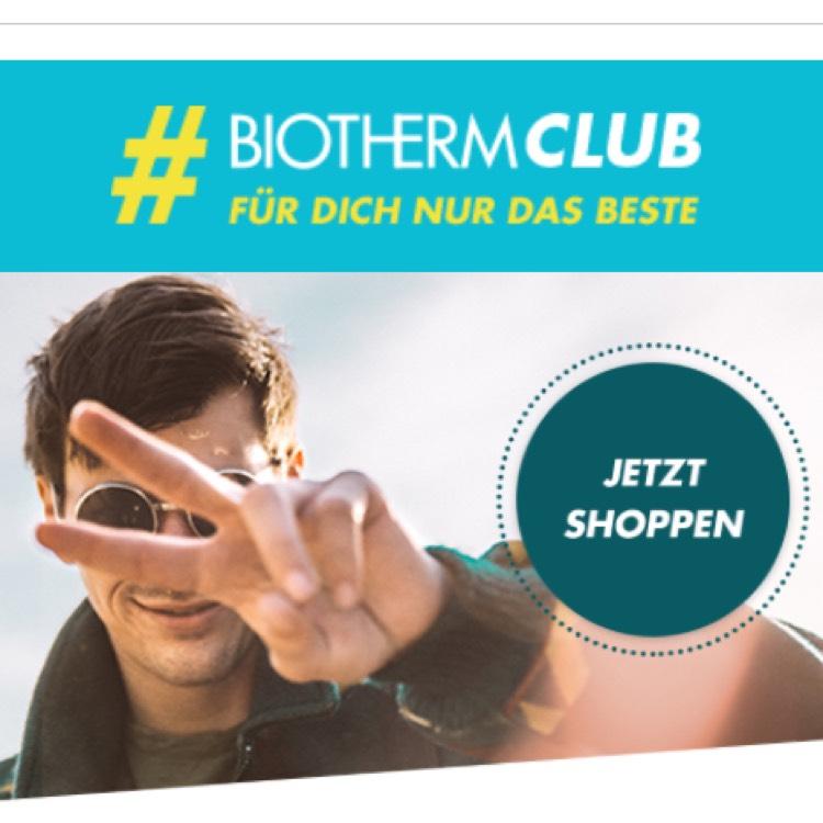 Heute WELTMÄNNERTAG 20% für Biotherm Produkte bei Flaconi