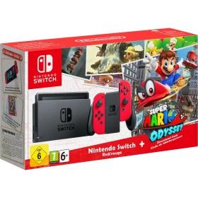 Nintendo Switch mit Super Mario Odyssey für 343,66€ mit Gutschein
