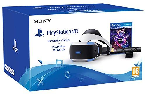 PlayStation VR + Kamera + VR Worlds für 312,50€(Amazon.it)