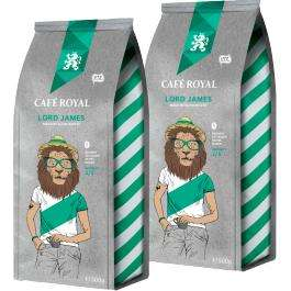 Café Royal Lord James 2x500g mit 78% Rabatt im Migros Shop