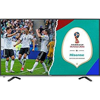 Hisense H55MEC3050 TV (55'' UHD Edge-lit HDR, 800Hz [interpol.], Triple Tuner, 4x HDMI, 3x USB, LAN + WLAN mit Smart TV, CI+, VESA, EEK A) für 499€ [AO]
