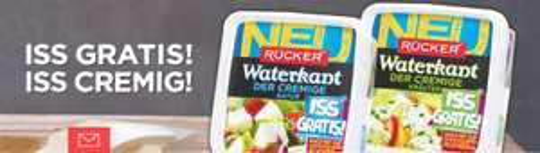 *Gratis testen* Rücker Waterkant (früher Cremas) - Der Cremige - Natur / Kräuter Käse