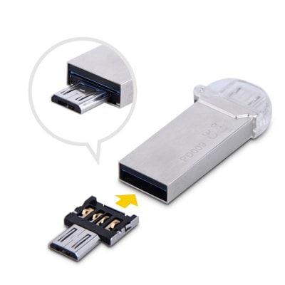MicroUSB OTG Adapter für 9 Cent (Gearbest)