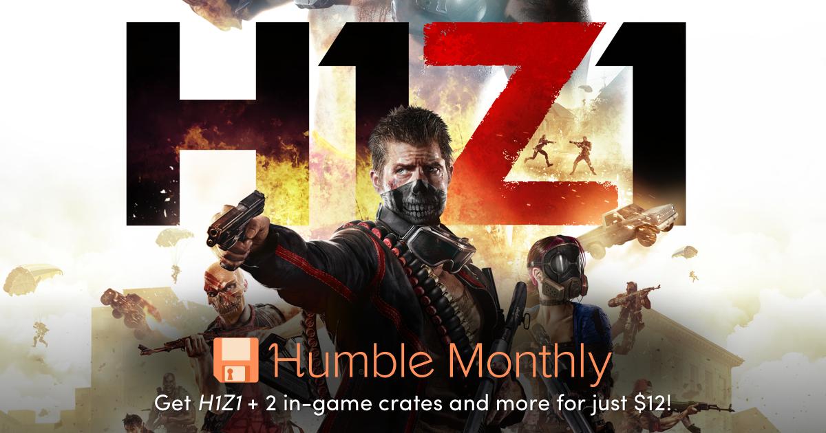 Humble Monthly November [Humble Bundle] [Steam] mit H1Z1 + 2 Crates sofort und später weitere Spiele
