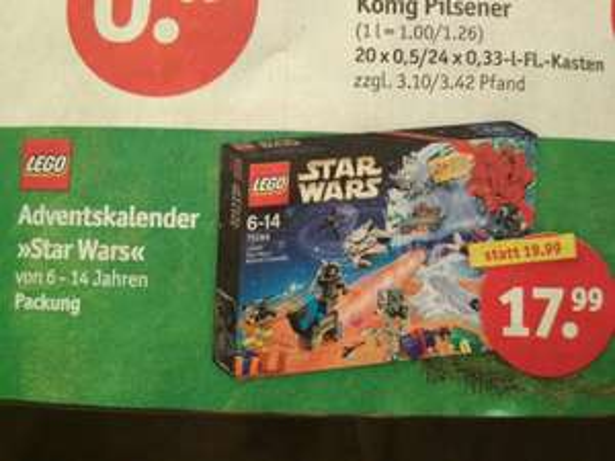 LEGO Star Wars Adventskalender 75184 - Plaza/Sky XXL OFFLINE