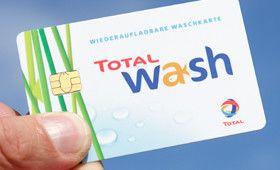 TOTAL Tankstellen Waschkarte für die Waschanlage