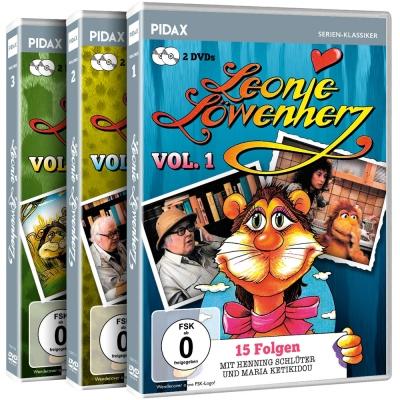 Leonie Löwenherz Vol. 1 , 2 und 3 für 18,90 @PIDAX