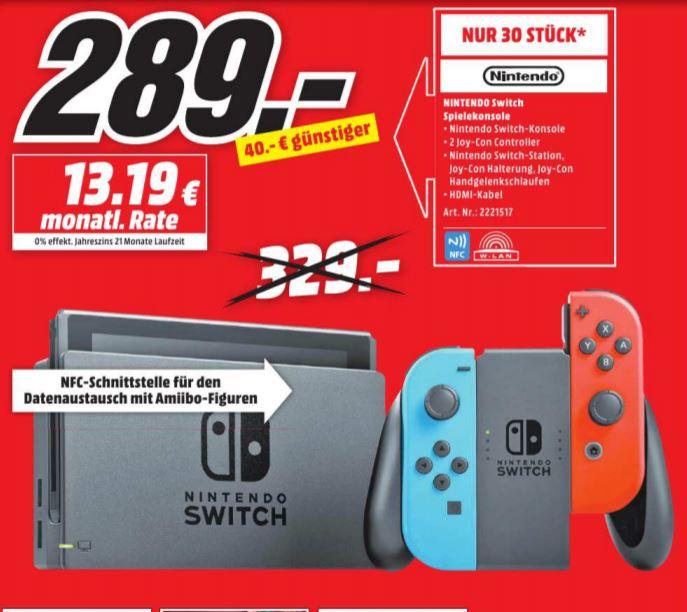 Nintendo Switch (Lokal MM Pirmasens Sonntag 05.11)