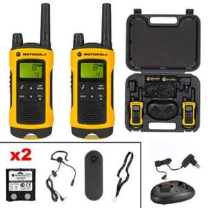 Set Motorola TLKR T80 Extreme Walkie Talkies 2 Stück