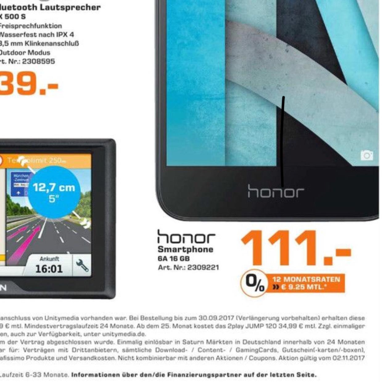 Lokal MH Honor 6a für 111€.