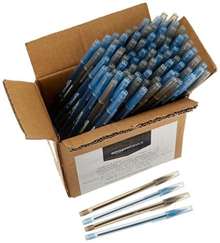 [Amazon] AmazonBasics Kugelschreiber, 1,0 mm, 100er-Pack als Sparabo 9,61 €