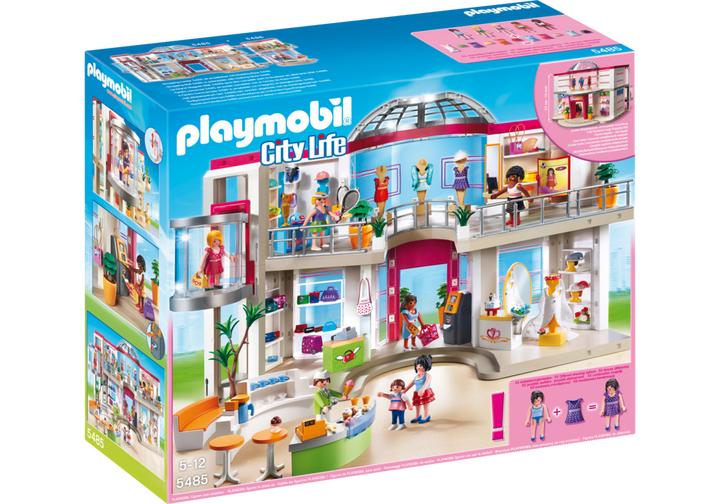 Playmobil City Life - Shopping-Center mit Einrichtung (5485)