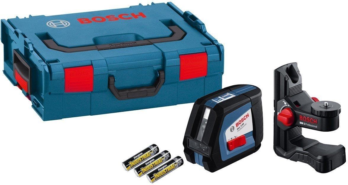 Linienlaser Bosch GLL 2-50 Professional + BM 1 + L-Boxx179,-€ incl. Versand