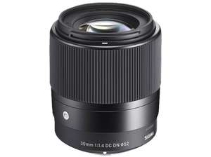 Sigma 30mm f1.4 DC DN C Sony E APS-C @Saturn, @amazon