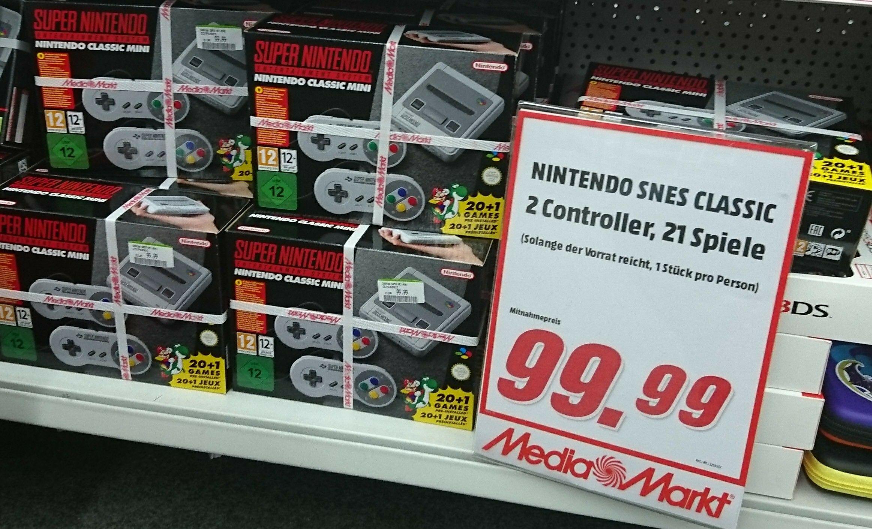 Nintendo SNES Classic Mini [MediaMarkt Hamburg Nedderfeld]