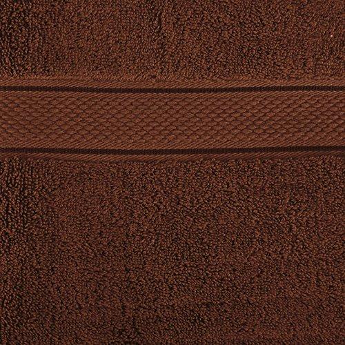 2 x Handtücher aus Baumwolle 50 x 100cm Schokobraun (AMAZON.DE PLUS PRODUKT)