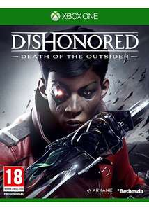 Dishonored 2: Der Tod des Outsiders (Standalone-Erweiterung) (Xbox One) 14,68€ (Base.com)