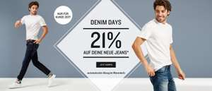 [Tom Tailor] Denim Days: 21% auf alle Jeans