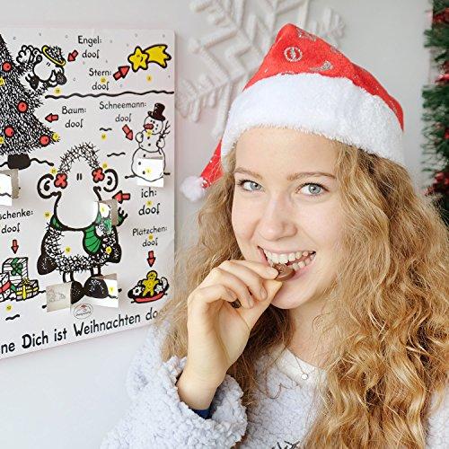 """[AMAZON] Plusprodukt Sheepworld Adventskalender """"Ohne Dich ist Weihnachten doof"""""""