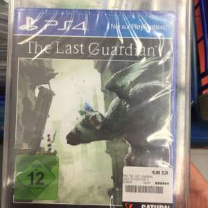 The Last Guardian ps4 PlayStation 4 Saturn Duisburg Lokal