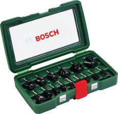 15-teiliges Oberfräsen-Set von Bosch (8mm)