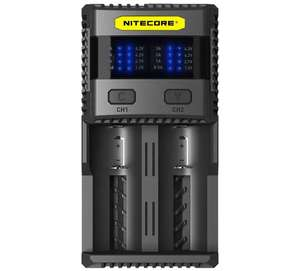 (Gearbest) Nitecore SC2-3A Ladegerät (Quick Charger 0,5A bis 3A)