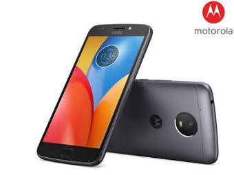 "Motorola Moto E4, Mediatek MT6737 4x1,3 Ghz, 5"" Display, 2 GB RAM, 16 GB Speicher, 8 MP f/2,2 Kamera, Dual-Sim, microSD-Slot (dediziert, bis 32GB), Akku: 2800 mAh, Android 7.1.1 (Nougat)"