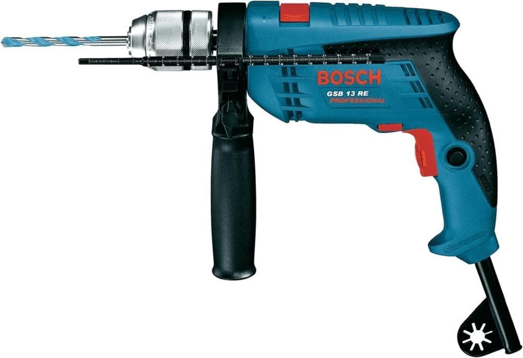 Bosch GSB 13 RE Professional, 600 Watt Schlagbohrmaschine für 53€ [Real]