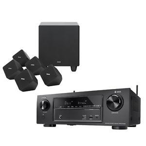 [alternate@eBay] Denon AVR-X1400H 7.2 AV Receiver (80W/Kanal, 6x HDMI 2.0 In + 1x HDMI 2.0 Out €4K/60Hz, Dolby Atmos / Vision, dtsX, WLAN, Bluetooth, HDR10, HLG, HEOS) & Denon SYS-2020 5.1 Lautspechersystem (100W RMS) im Bundle