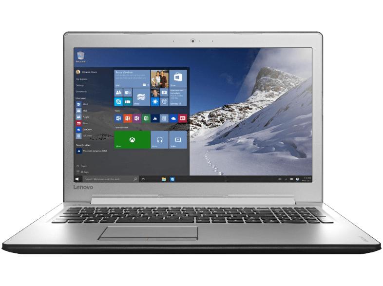 [Saturn] LENOVO IdeaPad 510, Notebook mit 15.6 Zoll Display, Core™ i7 Prozessor, 8 GB RAM, 1 TB HDD, GeForce 940MX, Gunmetal