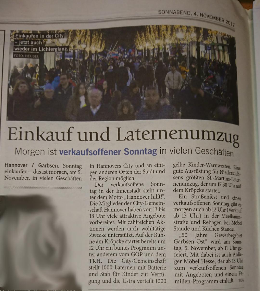 [Lokal Hannover] 1000x Kostenlose Laternen mit Batterien und 1000x Kinderwarnwesten