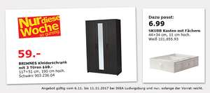 lokal ikea ludwigsburg brimnes kleiderschrank sl kt faltbare matratze. Black Bedroom Furniture Sets. Home Design Ideas