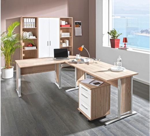 """[XXXLutz] Komplettes Büro-Set """"Cantus"""" in Eichenfarbe zum Top-Preis"""