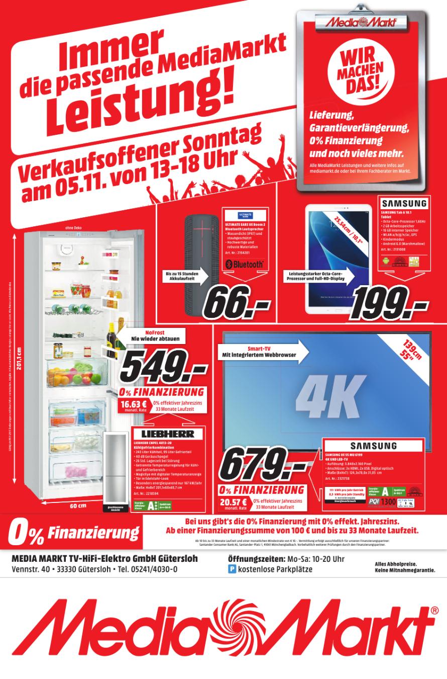 [Lokal Media Markt Gütersloh] UE Boom 2 für 66 € - Verkaufsoffener Sonntag 5.11. - 13 bis 18 Uhr