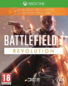 Battlefield 1: Revolution (Game inkl. Premium-Pass) (Xbox One & PS4 & PC) für je 28,77€ (Amazon FR)