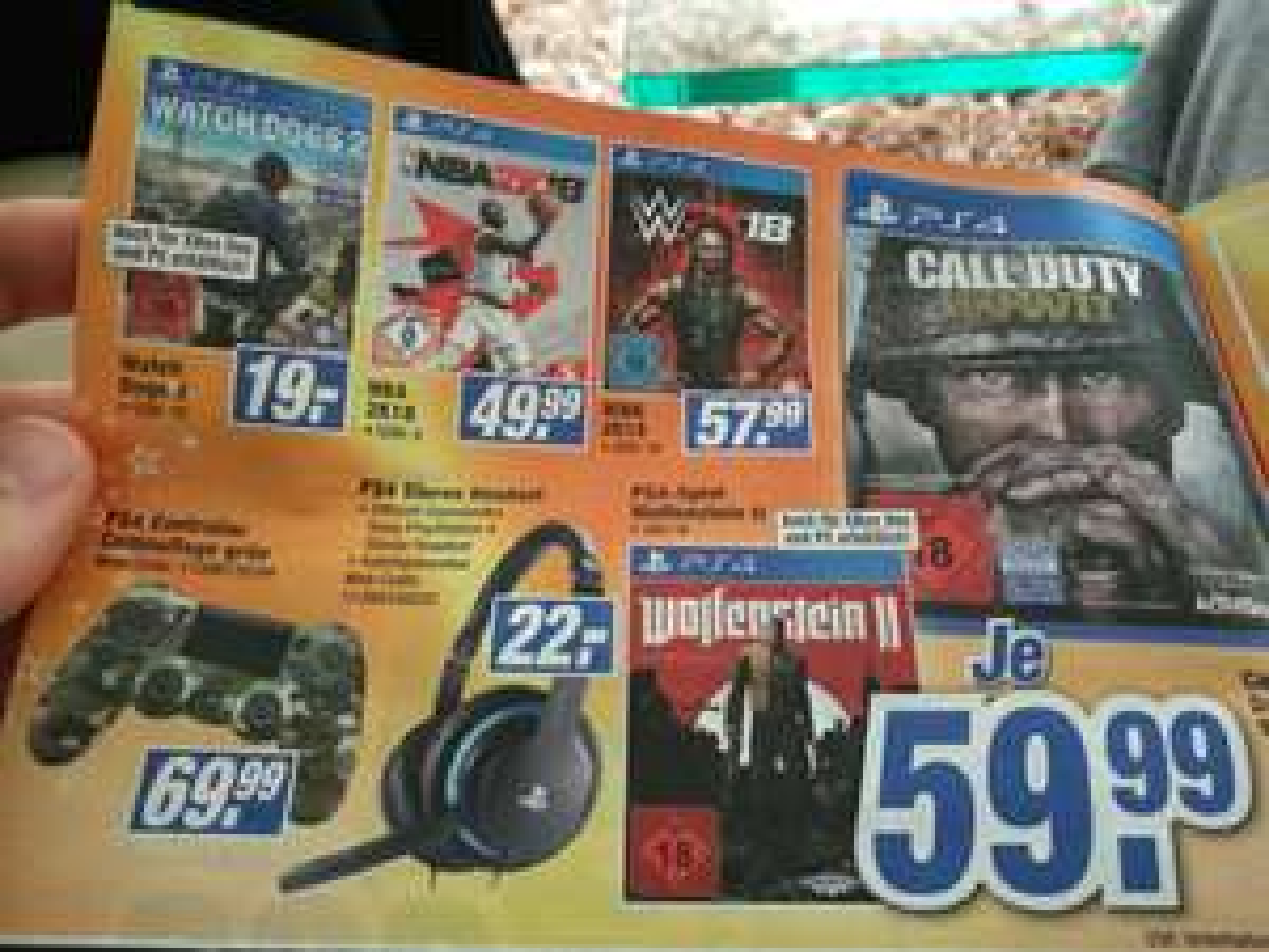 (Lokal Bielefeld? Expert) Watch Dogs 2 PS4