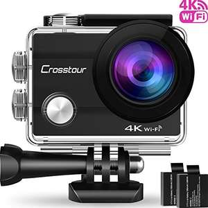 [Amazon UK] Crosstour Action Camera 4K Wifi Ultra HD Underwater Cam