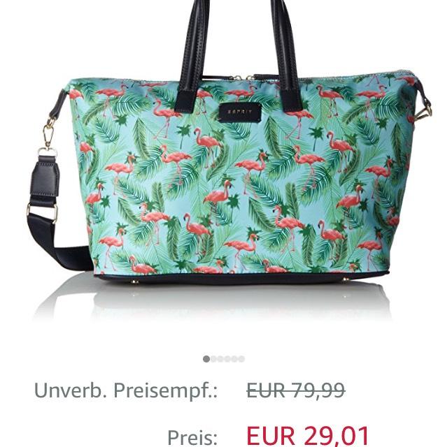 Esprit Tasche Weekender @ Amazon