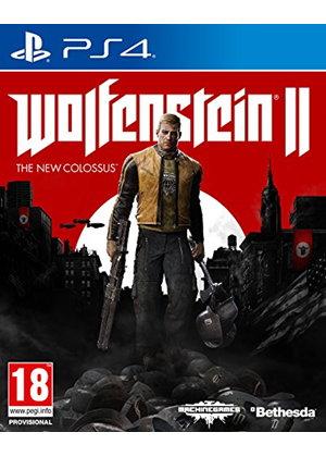 Wolfenstein 2: The New Colossus (PS4) pegi 18 UK inkl 1,50 € Versand