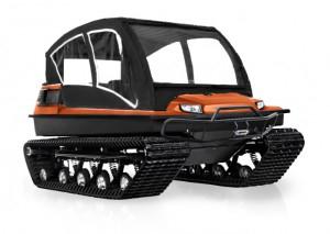 TINGER C500 comfort+ Universalfahrzeug für Gelände, Schnee und Wasser.