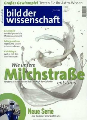 4-Monats-Abo Bild der Wissenschaft für 24,60€ bei Kioskpresse.de + 25€ Amazon Gutschein