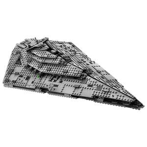 20% auf Lego Star Wars ab 30€ MBW bei [ToysRUs] - Lego 75190 First Order Star Destroyer für 79,98€