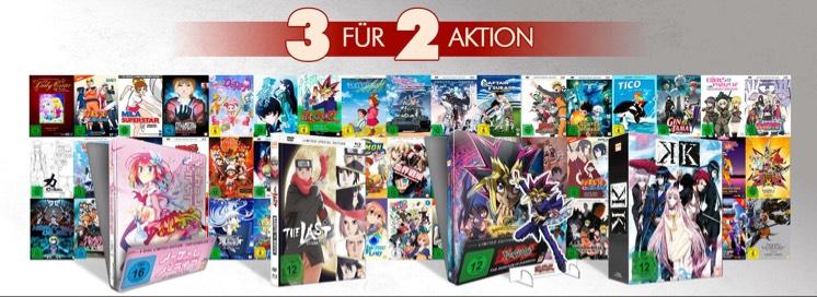 3 für 2 Anime Aktion von KSM Anime bis zu 33% Ersparnis