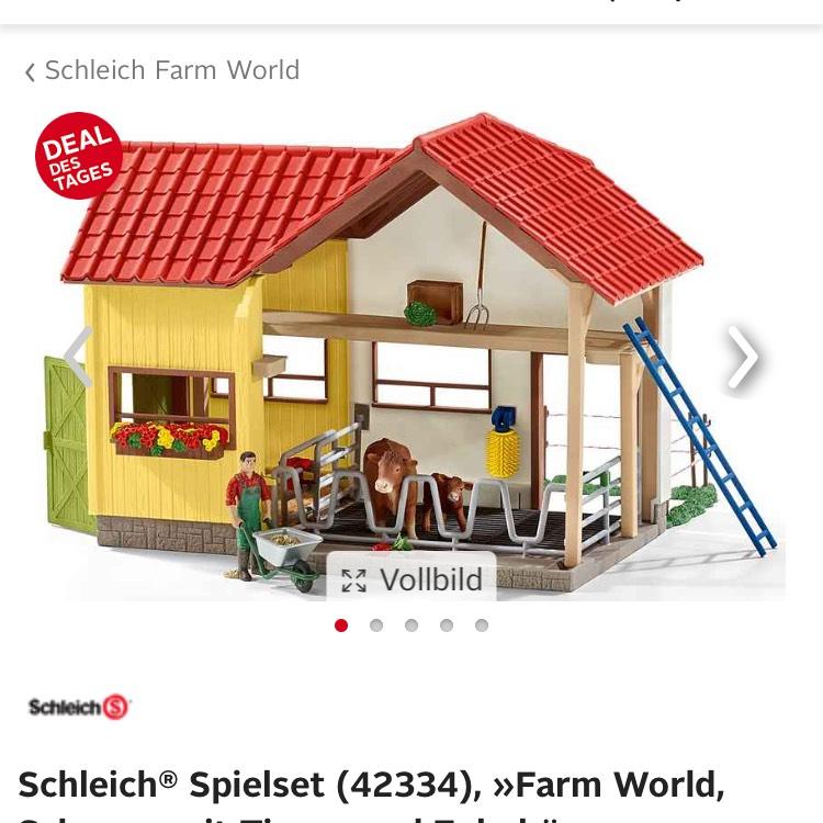 Schleich® Spielset (42334) Scheune