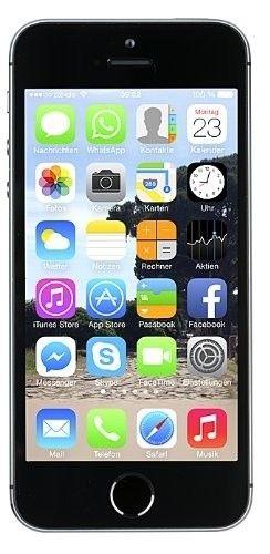 "Apple iPhone 5s 16GB Spacegrau LTE IOS Smartphone ohne Simlock 4"" Display 8 MPX [ebay smallbug_technikshop - Generalüberholt] @ 139 Euro inkl. Versand"