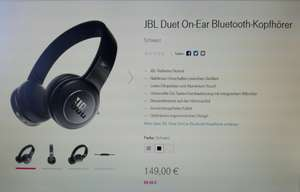 JBL Duett - on-Ear Bluetooth-Kopfhörer