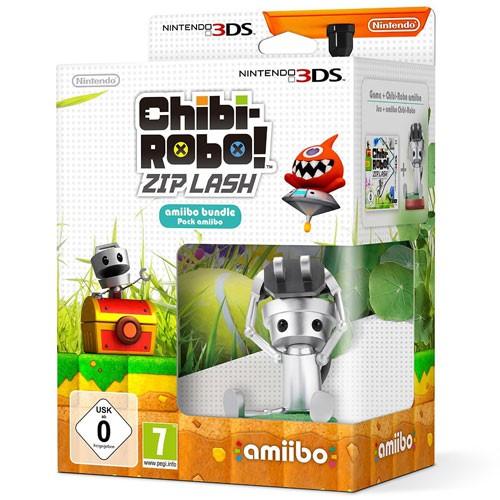 Nintendo 3DS Chibi-Robo!: Zip Lash - Special Edition inklusive Amiibo NEU für 2,99 €