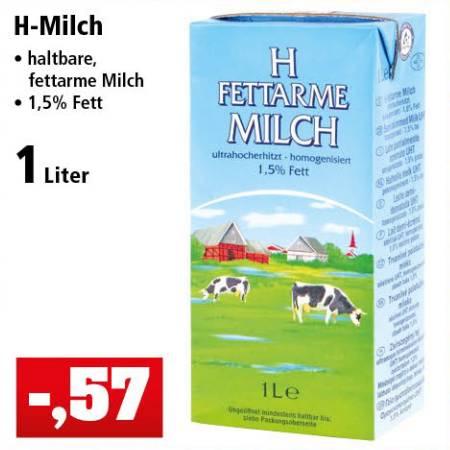 [Thomas Philipps] Fettarme H-Milch für 57 Cent